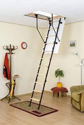 Чердачная лестница Oman Mini Termo 80х70 мм H265