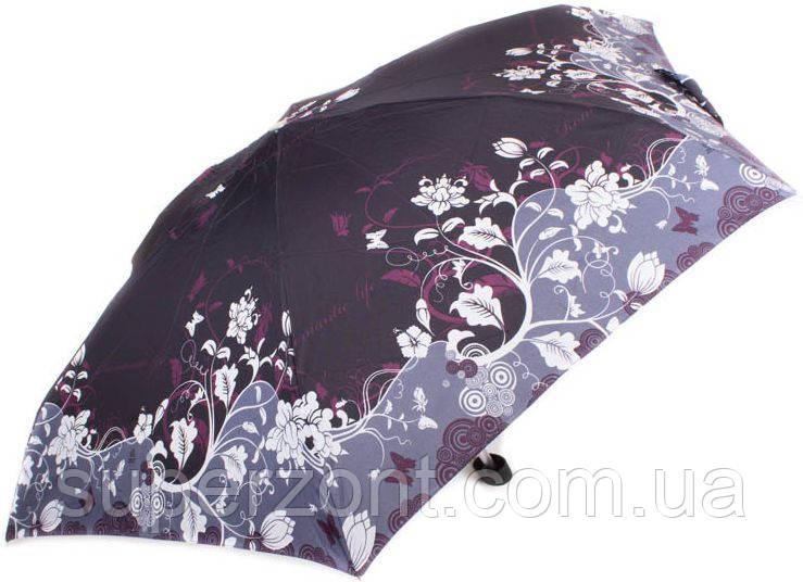 Компактный облегченный женский зонт, механика ZEST (ЗЕСТ) Z55516-3