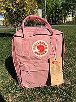 Рюкзак школьный Канкен классик 16л персиковый розовый Fjallraven Kanken Фьялравен Киев