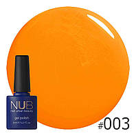 Гель-лак  NUB (США)  HOT FRUIT 003   8ml