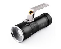 Мощный аккумуляторный переносной фонарь / фонарик Poliсe 12V S910-XPE, zoom