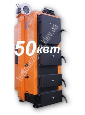 Универсальный твердотопливный котел HeatLine 50 kW от 400 до 500 кв м