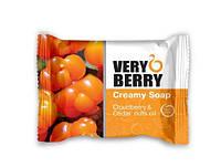 """Крем-мыло """"Морошка и масло кедрового ореха"""" - Very Berry Cloudberry & Cedar Nuts Oil Cremy Soap"""