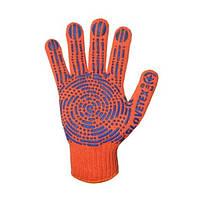 Перчатки трикотажные с ПВХ точкой 761 5 нитей