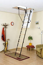 Чердачная лестница Oman Mini Termo H265 80х60 мм