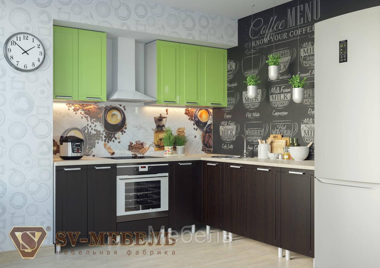 Кухня Геометрия МДФ 2 метра без столешницы ф-ка SV Мебель