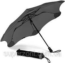 Противоштормовой зонт женский полуавтомат BLUNT (БЛАНТ) Bl-xs-charcoal
