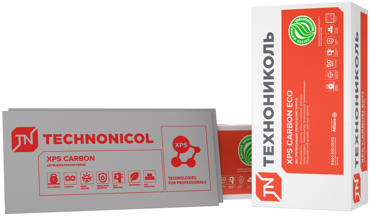 Технониколь XPS Carbon ECO 20*1180*580 мм
