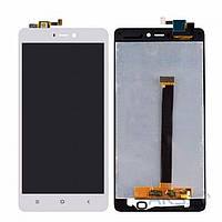 Дисплей (экран) для телефона Xiaomi Mi4s + Touchscreen Original White