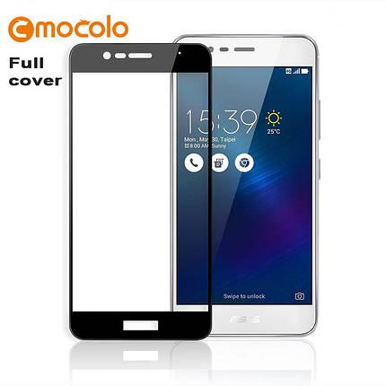 Защитное стекло Mocolo 2.5D 9H на весь экран для Asus ZenFone 3 Max ZC520TL 5.2 черный, фото 2