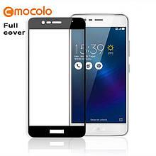 Защитное стекло Mocolo Full сover для Asus Zenfone 3 Max ZC553KL черный