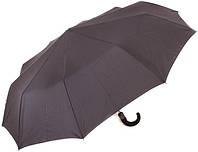 Классический надежный зонт, антиветер, полуавтомат ZEST Z13960 чёрный