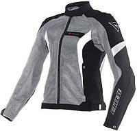 Мотокуртка женская Dainese Air Crono текстиль антрацит черный белый, 40
