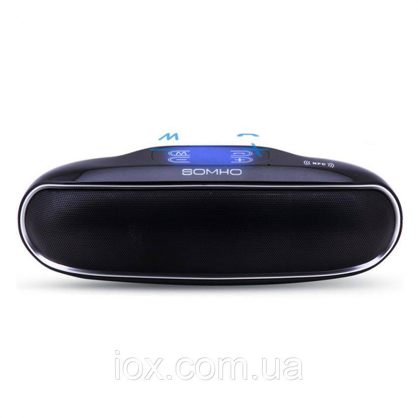 Беспроводная портативная Super Bass Bluetooth колонка SOMHO S309