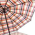 Оригинальный мужской зонт полуавтомат ZEST (ЗЕСТ)  Z53622-9 Антиветер!, фото 3