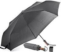 Мужской зонт автомат с нано-покрытием купола FARE (ФАРЕ) FARE5663-black Антиветер!