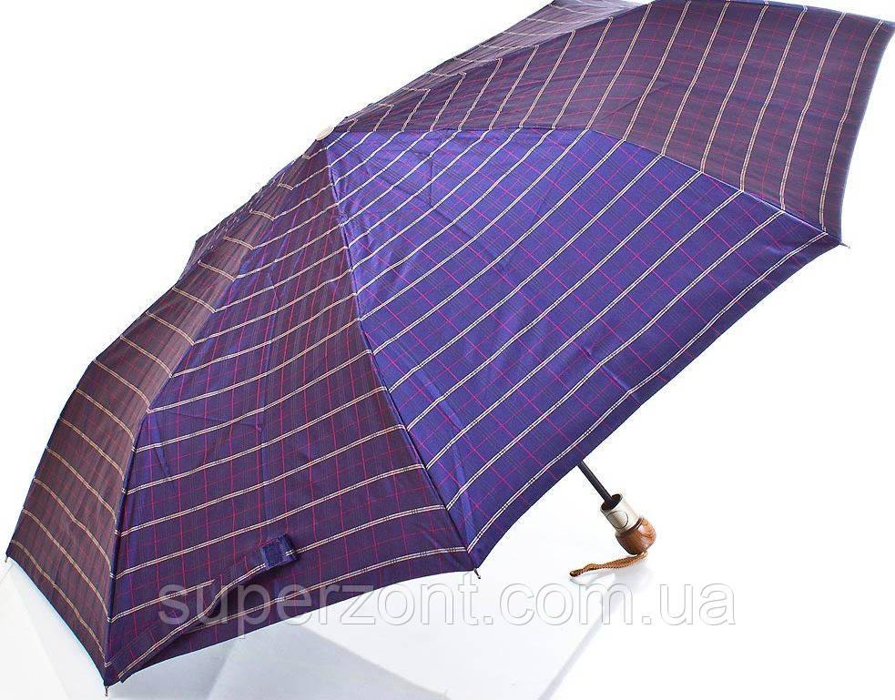 Мужской современный зонт полуавтомат ZEST (ЗЕСТ)  Z53622-10  Антиветер!