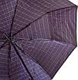 Мужской современный зонт полуавтомат ZEST (ЗЕСТ)  Z53622-10  Антиветер!, фото 3