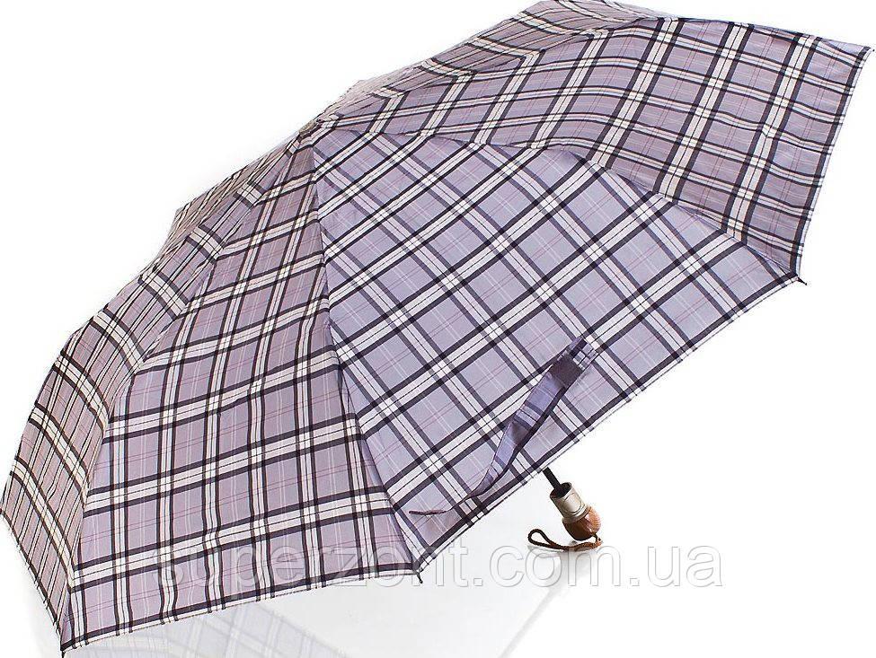 Мужской современный зонт полуавтомат ZEST (ЗЕСТ)  Z53622-11  Антиветер!