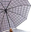 Мужской современный зонт полуавтомат ZEST (ЗЕСТ)  Z53622-11  Антиветер!, фото 3