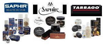 Косметика для обуви Tarrago и Saphir (Сапфир и Тарраго)