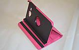 Поворотный 360° чехол-книжка для Samsung Galaxy J Max 7.0 T285YD T285YZ (розовый цвет), фото 4