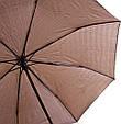 Оригинальный мужской зонт полуавтомат ZEST (ЗЕСТ)  Z53622-2  Антиветер!, фото 3