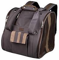 Рюкзак-переноска для собак Trixie Nelly 28900, коричневый, 34х32х29 см
