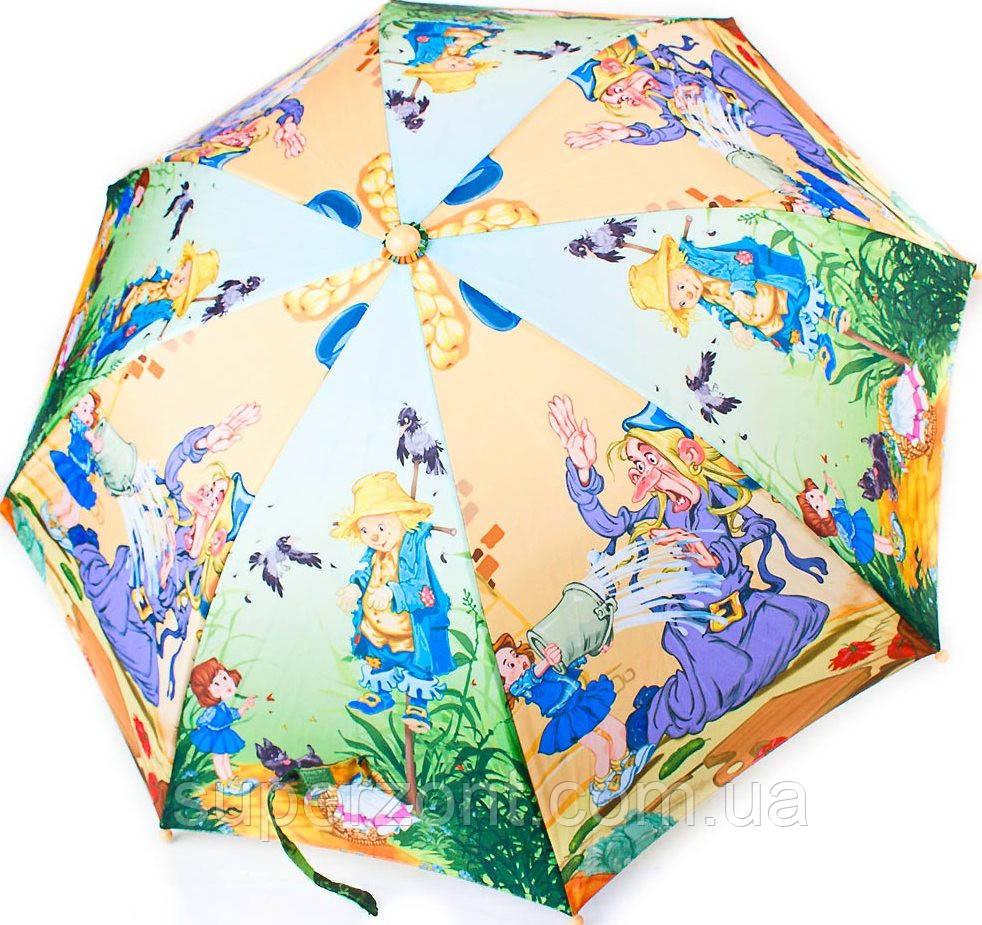 Облегченный детский зонт-трость полуавтомат ZEST (ЗЕСТ) Z21665-2