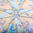 Облегченный детский зонт-трость полуавтомат ZEST (ЗЕСТ) Z21665-2, фото 4