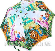 Яркий облегченный детский зонт-трость полуавтомат ZEST (ЗЕСТ) Z21665-5