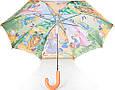 Сказочный облегченный детский  зонт-трость полуавтомат ZEST (ЗЕСТ) Z21665-1, фото 3