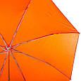 Компактный, механический, женский, облегченный зонт FARE (ФАРЕ) FARE5008-orange, фото 3