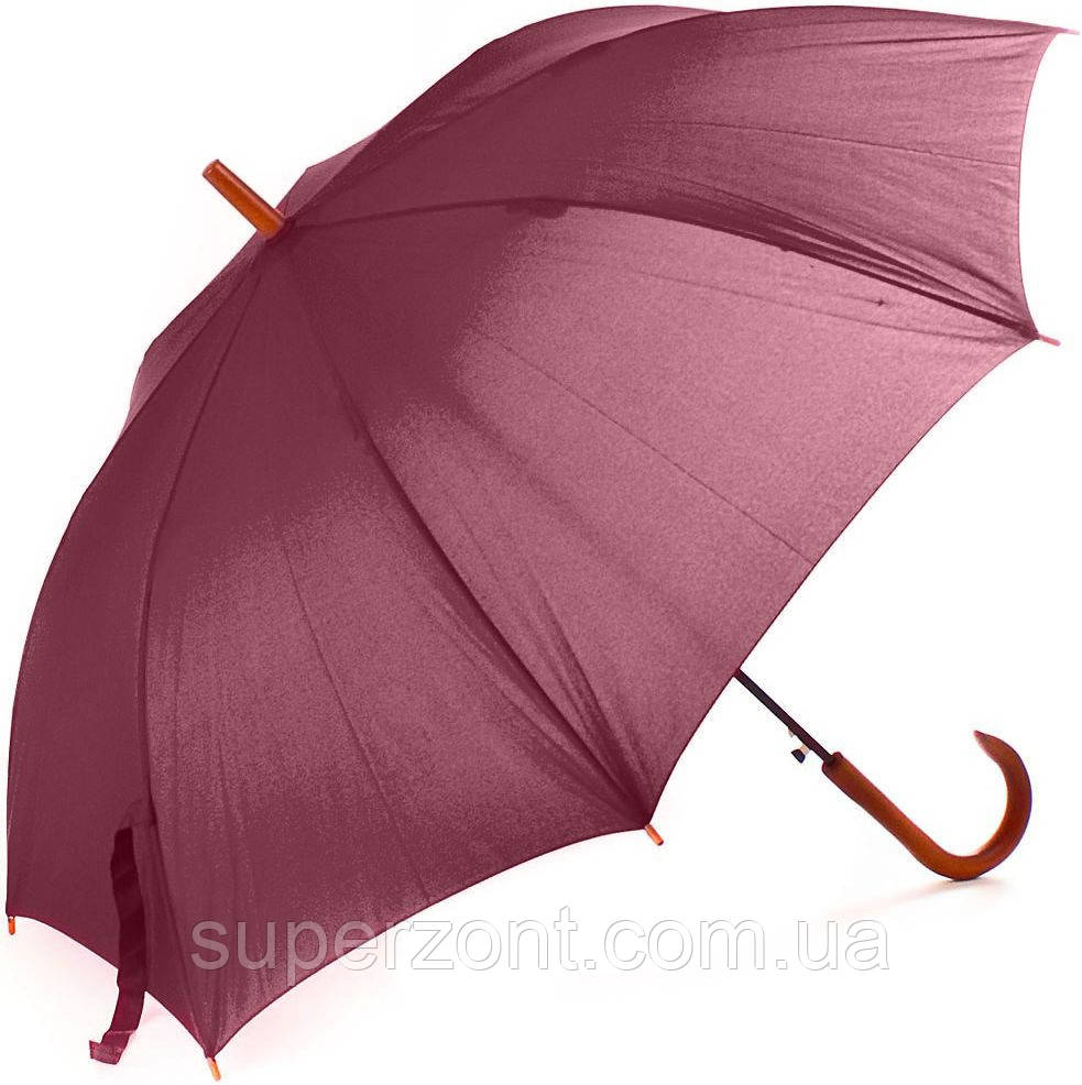 Женский зонт-трость полуавтомат FARE (ФАРЕ) FARE1132-bordo