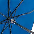 Женский механический двусторонний облегченный зонт FARE (ФАРЕ) FARE5783-oblaka Антиветер, фото 5