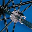 Женский механический двусторонний облегченный зонт FARE (ФАРЕ) FARE5783-oblaka Антиветер, фото 6
