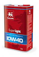 Моторное масло WOLVER Super Light 10w40 4л SM/CF