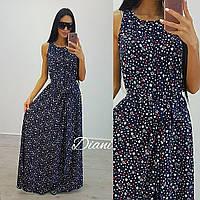Платье.  Ткань - супер софт, длина 160 см. Размер 42-46. (21239)