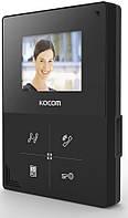Видеодомофон Kocom KCV-401EV(black)