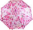 Яркий женский зонт-трость, полуавтомат ZEST (ЗЕСТ) Z21625-17, фото 3