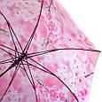 Яркий женский зонт-трость, полуавтомат ZEST (ЗЕСТ) Z21625-17, фото 4
