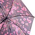Лёгкий женский зонт-трость, полуавтомат ZEST (ЗЕСТ) Z21625-22, фото 3