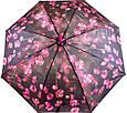 Лёгкий женский зонт-трость, полуавтомат ZEST (ЗЕСТ) Z21625-22, фото 4