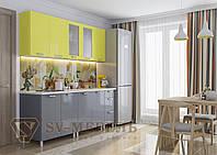 Кухня Модерн МДФ (2 метра)без столешницы