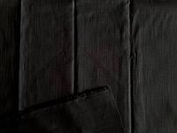 Лен-стрейч (черный) (арт. 14114)