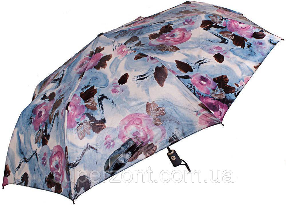 Красочный женский зонт ZEST( ЗЕСТ) Z23742-5 Автомат + Антиветер