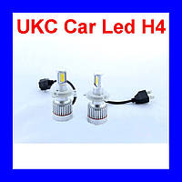Led лампы для автомобиля UKC Car Led H4 c цоколем 33W 4500-5000K 3000LM CAR LED headlight