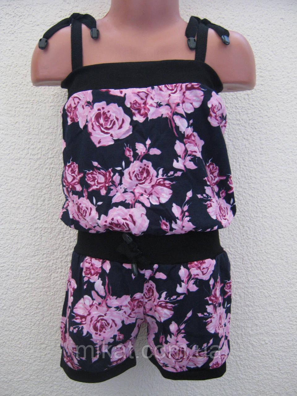 Літній комбінезон (топ + шорти) для дівчинки (1 f4132a4fd2c57