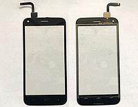 Оригинальный тачскрин / сенсор (сенсорное стекло) для UMi London (черный цвет)