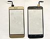 Оригинальный тачскрин / сенсор (сенсорное стекло) для S-TELL M621 (золотой цвет)